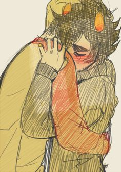 The best Davekats are when cool dude Dave consoles Karkat when he finally lets his self hatred show. So sweet