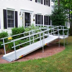 http://www.patriotmobilityinc.com/wheelchair-ramps/aluminum-ramps/#!  Aluminum Wheelchair Ramps
