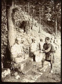 祈りの旅と祭り Japan c 1900