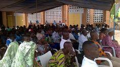 #EcoleNumériqueTG, présence des parents d'élèves du Lycée Technique d'#AnehoGlidji  #Tech #education
