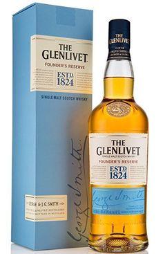 The Glenlivet Founder's Reserve Single Malt Scotch Whisky, 70 cl #whiskydrinks