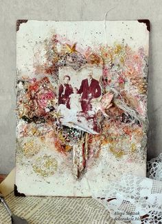 Hello dear crafters, Today I'm here to share with you my latest canvas. I wanted to achieve a bit of vintage look on this project, so I'v...