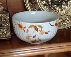Jewel Tea small mixing bowl Hall's Superior by MargueritesWoodShed