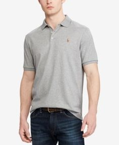 Polo Ralph Lauren Men's Classic Fit Short Sleeve Pima Soft Touch Polo -
