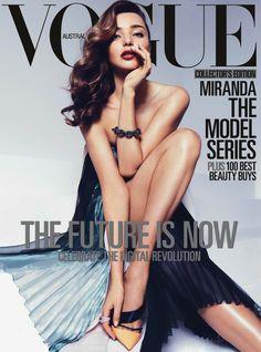 THE DIVINE MISS M: MIRANDA KERR BY MIGUEL REVERIEGO FOR VOGUE AUSTRALIA APRIL 2013