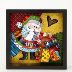 Another great find on Department 56 Rudolph the Red-Nosed Reindeer & Santa Britto Pop Art Figurine by Rudolph the Red-Nosed Reindeer Diy Christmas Gifts, Christmas Art, Christmas Projects, Christmas And New Year, Christmas Decorations, Christmas Ornaments, Christmas Stuff, Arte Pop, Pop Art