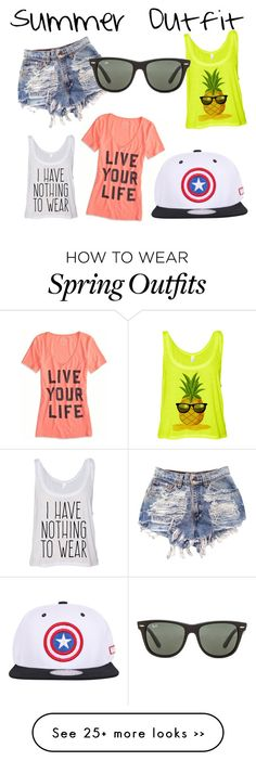 """""""Summer Outfit"""" by lizzywhite018 on Polyvore"""