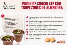 Hoy os proponemos una #receta muy sencilla y fría para preparar con nuestro chocolate con almendras. ¡Buenísmo!