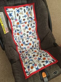 A personal favorite from my Etsy shop https://www.etsy.com/listing/233344154/car-seat-cooler-all-star-sports-ready-to