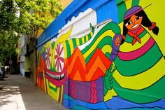 A Mural Meander: A Visual Tour of Street Art in Santiago's Barrio ...