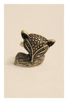 Cute Little Fox Anima Ring