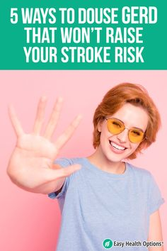 <p>Many acid reflux drugs have been found to increase stroke risk by as much as 94 percent! Luckily, researchers identified 5 easy steps to reduce GERD symptoms without the threat of stroke.</p> Gerd Symptoms, Heartburn Symptoms, Disease Symptoms, Massachusetts General Hospital, Gerd Diet, Gastroesophageal Reflux Disease, Health Options, Stomach Acid, Natural Health Tips