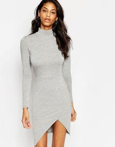 ASOS Polo Asymmetric Bodycon Mini Dress