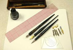 Basic Calligraphy Tools