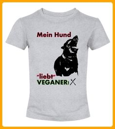 Mein Hund liebt veganer - Haustier shirts (*Partner-Link)