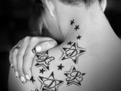 Imagenes de Tatuajes de Estrellas