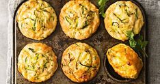 Zucchini Slice Muffins