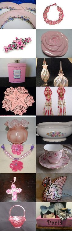 It's All PINK To Me by Karen Blevins on Etsy--Pinned with TreasuryPin.com