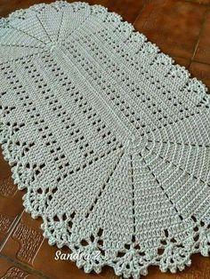 Crochet Blanket Edging, Crochet Squares, Filet Crochet, Knit Crochet, Free Doily Patterns, Baby Knitting Patterns, Crochet Patterns, Crochet Carpet, Crochet Home