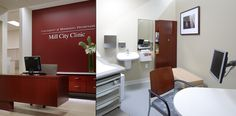 professional office design waiting rooms | Clinic Room Design