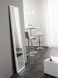 Miroir Basique blanc