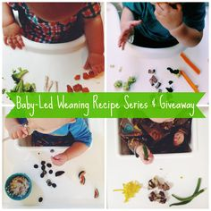 New #babyledweaning recipes series! And a chance to win the Baby-Led Weaning Book Series. Check it out: http://kiwiandbean.com/cooking-for-beansprout-part-i/