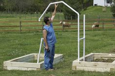Totally easy, portable pvc pipe arbor.  Covered in material & flowers, who would know?