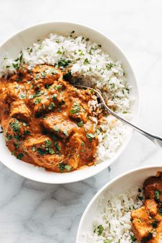 10 Best Healthy Chicken Recipes - Pinch of Yum Chicken Tikka Masala - creamy, perfectly spicy, and r Chicken Tikka Masala, Poulet Tikka Masala, Pollo Tikka, Chicken Tika, Chicken Breasts, Healthy Chicken Recipes, Cooking Recipes, Recipe Chicken, Cooking Ideas