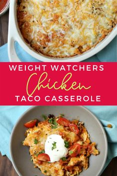 You have to try this Weight Watchers Taco Casserole! Use ground turkey or chicken and still ONLY 6 Smartpoints for a one pan meal! The post Weight Watchers Taco Casserole with Points appeared first on Tasty Recipes. One Dish Meals Tasty Recipes Weight Watchers Casserole, Weight Watchers Meal Plans, Weight Watcher Dinners, Weight Watchers Chicken, Ww Recipes, Low Calorie Recipes, Healthy Recipes, Dinner Recipes, Healthy Meals