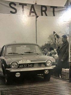 Moterløb ved Helsingør Hallen 1970