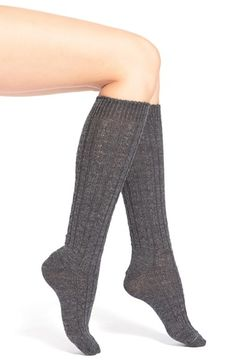 Wigwam Cable Knit Knee Socks available at #Nordstrom