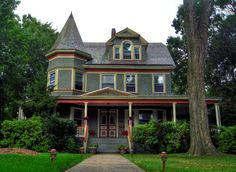 Victorian House in South Orange, New Jersey, USA