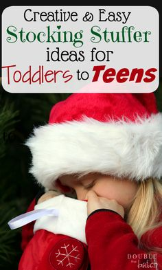 These are great ideas for a wide age range. Finally, stocking stuffer ideas for all of my kids all in one place!
