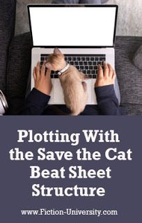 Fiction University: Plotting With the Save the Cat Beat Sheet Structure Writing Resources, Writing Skills, Writing Tips, Three Act Structure, Story Structure, Plot Diagram, Writing Outline, Start Writing, Screenwriting