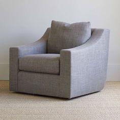 Clarence Swivel Club Chair | BungalowClassic