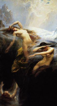 Herbert James Draper - Clyties of the Mist