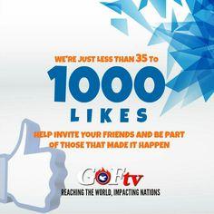 On nearing 1000 Facebook likes...