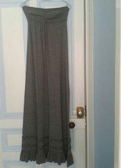 #superdry À vendre sur #vintedfrance ! http://www.vinted.fr/mode-femmes/robes-longues/30680820-robe-longue-superdry-gris