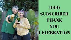 1K SUBSCRIBER THANK YOU CELEBRATION!