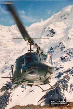 RNZAF IROQUOIS  Southern Alps 1995