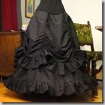 48 + FREE SKIRT TUTORIALS - I love the black victorian skirt as pictured on pin.  It would be SO cute on an empire-waist dress with princess seam skirt with ruffle.  Maybe this would be darling as a white baptism dress.