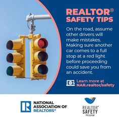 Assume other drivers will make mistakes on the road. Visit the REALTOR® Safety Program to find more personal safety resources. Personal Safety, National Association, Making Mistakes, Safety Tips, Save Yourself, Knowledge, Learning, How To Make, Magazine
