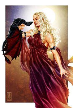 Daenerys Targaryen - Game of Thrones - Mark Brooks