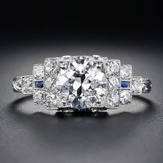 art deco ring~freaking amazing, love the 20's deco period wow~