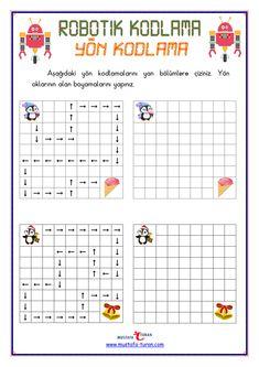 Fun Worksheets For Kids, Preschool Worksheets, Brain Activities, Activities For Kids, Computer Basics, Montessori Education, Coding For Kids, Bullet Journal School, Kindergarten