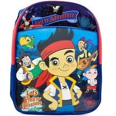 Disney Jake and the Neverland Pirates backpack $34.99