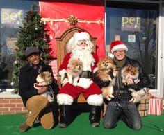 Annual Santa event.  #poms #naturallylocal