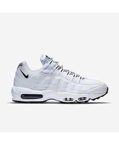 sports shoes 3bdb4 3ccd5 Mens Nike Air Max 95 Originals White Black Trainer Jordan Shoes Online, Nike  Shoes Online