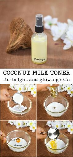 Natural Skin Remedies We are all aware of coconut oil skin benefits, did you know that coconut milk is equally effective when it comes to a variety of skin issues? If your skin la. Coconut Oil Skin Benefits, Coconut Oil For Skin, Coconut Milk, All Natural Skin Care, Organic Skin Care, Natural Glow, Natural Face, Organic Beauty, Natural Beauty