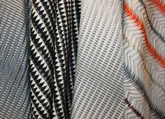 Modern Fabric Patterns | tribal fabric contemporary design, Margo Selby